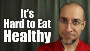 "Dr. Bryan Dzvonick, ND - Thumbnail for the YouTube Video Titled: ""Why Eating Healthy is so Difficult"""