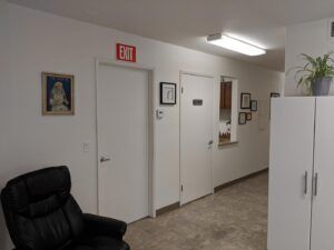 California Naturopathic Clinic hallway