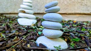 Natural Hormone Therapy Balancing Rocks